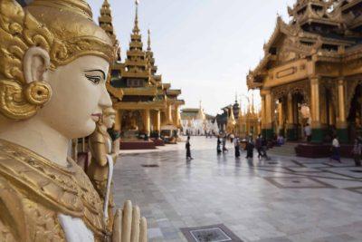 Schwedagon Pagode - Yagon - Myanmar