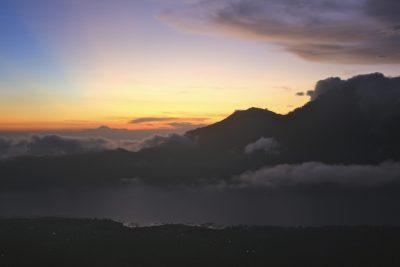 Sonnenaufgang - Vulkan - Bali