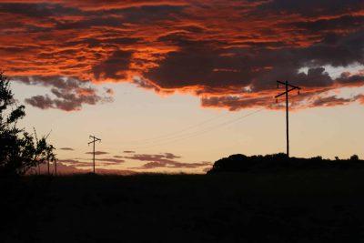 Suedafrika Gruppenreise - Sonnenuntergang - Bloemfontain - Suedafrika