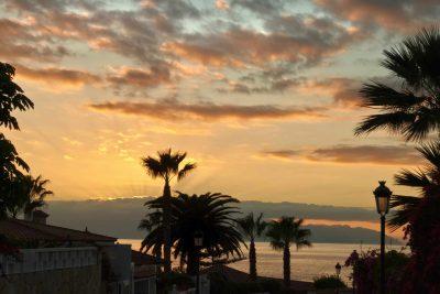 Sonnenuntergang - La Gomera - Spanien