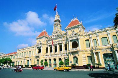 Thailand Individualreise -Vietnam Individuell - Vietnam Radreise - Vietnam Rundreise -Stadthalle - Saigon