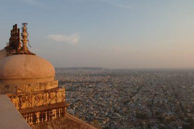 Stadtpanorama - Jaipur - Rajasthan - Indien