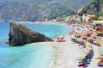 Strand - Cinque Terre - Italien.