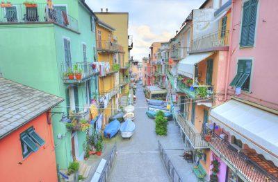 Strasse - Cinque Terre - Italien