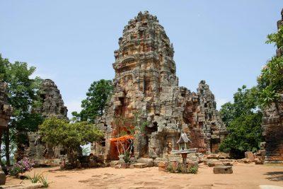 Tempel - Battambang - Kambodscha