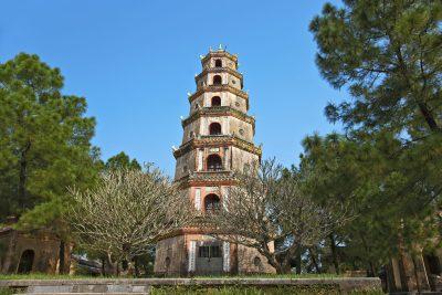 Vietnam Gruppenreise -Vietnam Rundreise -Thien Mu Pagode - Hue
