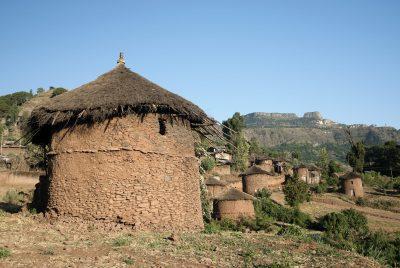 Traditionelle Hütte - Libabela - Aethiopien