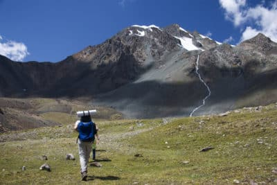 Trekking in Kirgistan