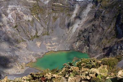 Vulkankrater - Irazu Vulkan - Costa Rica