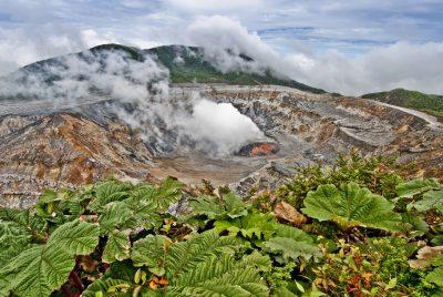Vulkanlandschaft - Poas Vulkan - Costa Rica