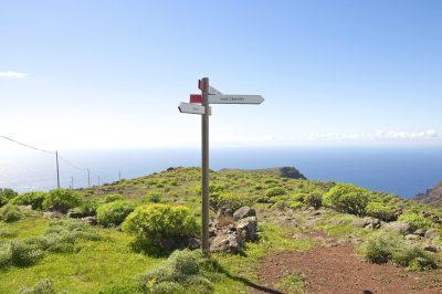 Wegweise - La Gomera - Spanien