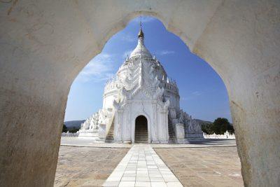 Weisse Pagode - Mandalay - Myanmar