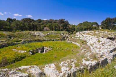 Wiese - Syrakus - Sizilien