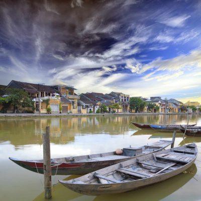 Vietnam große Rundreise -Vietnam Rundreise -Wohngebiet - Hoi An