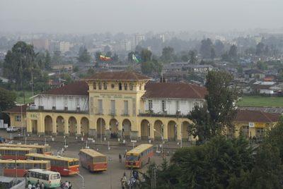Äthiopien Rundreise Bahnhof in Addis Abeba