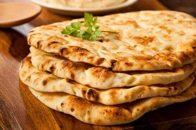 Bangladesch Rundreise - Hausgemachtes Naan Brot - Srimongol