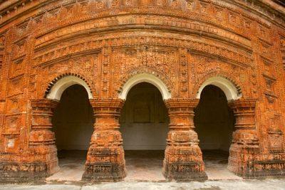 Bangladesch Rundreise - Hindu Tempel - Puthia