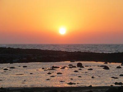 Bangladesch Rundreise - Sonnenuntergang am Strand - Cox's Bazar
