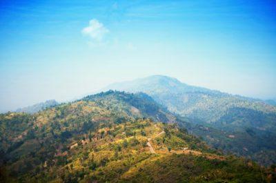 Bangladesch Rundreise - Wolken und Hügel - Bandarban