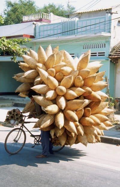 beladenes Fahrrad - Saigon - Vietnam