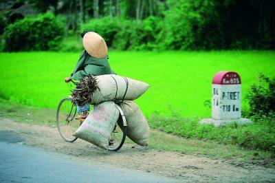 Vietnam Reise -Vietnam Gruppenreise -Vietnam Rundreise -bepacktes Fahrrad - Hue