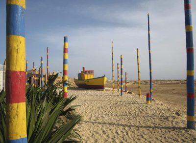 Kapverden Aktivurlaub -buntes Boot - Kap Verde