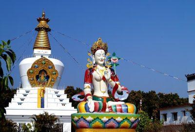 Indien Rundreise - Buddha Tempel - Dehradun