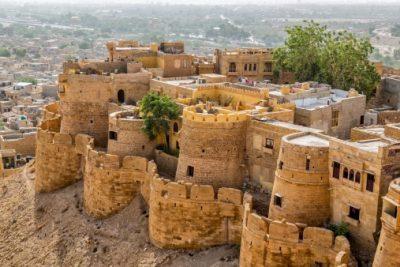 Indien Rundreise - Jaisalmer Fort - Jaisalmer