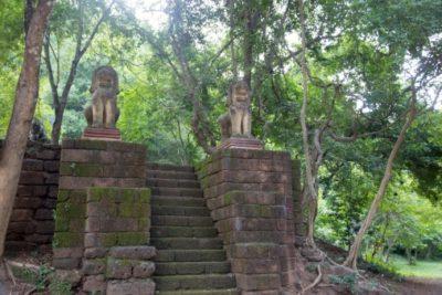 Kambodscha - Wat Banan - Battambang