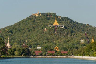 Myanmar Rundreise - Ausblick Mandalay Hill - Mandalay