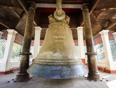 Myanmar Rundreise - Glocke - Mingun