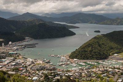 Neuseeland Rundreise - Luftbild - Picton