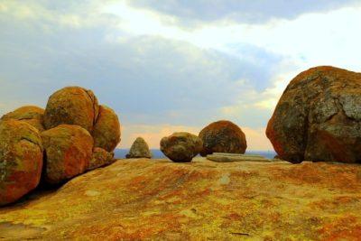 Simbabwe Rundreise - Das Grab von Cecil John Rhodes - Matobo Nationalpark
