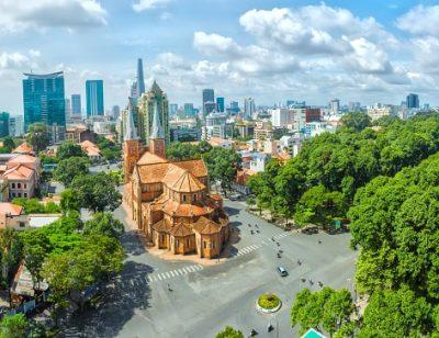 Vietnam Rundreise - Sonniger Tag in der Ho Chi MinhStadt