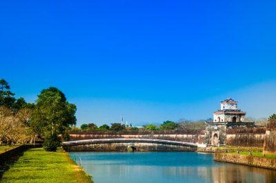 Vietnam Rundreise - Zitadelle - Hue