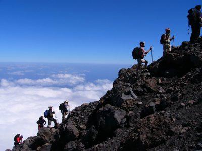 Kap Verde Wandern und Baden -Kapverden Wanderreise -Kapverden Gruppenreise -Aufstieg zum Pico de Fogo - Insel Fogo