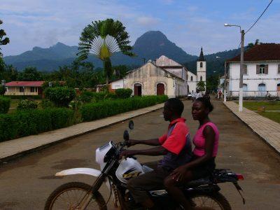 Dorf - Sao Tome und Principe Reisen