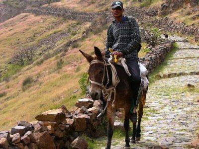 Wanderung - Berge - Santo Antao - Kap Verde