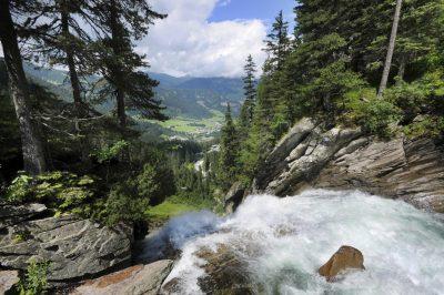 Kimml Wasserfall - Nationalpark Hohen Tauern - Wanderreise - Oesterreich