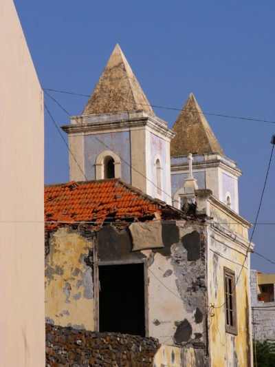 Kirche - Sao Filipe Insel Fogo - Kapverden