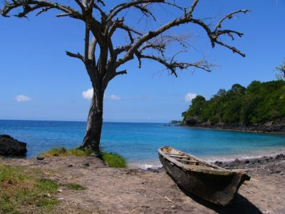 Sao Tome und Principe Rundreise -Sao Tome und Principe Aktivurlaub -traumhafte Bucht - Sao Tome und Princie