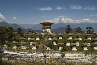 Bhutan Rundreise -Gebrige - Druk Wangyal - Bhutan