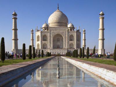 Radreise Indien -Taj Mahal - Agra - Indien