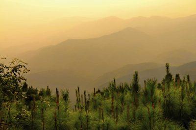 Thailand Individualreise -Individuelle Thailand Rundreise - Bergpanorma - Chiang Rai - Thailand