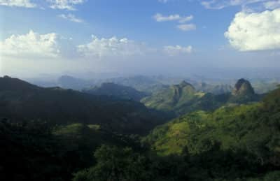Aethiopien Rundreise - Panorama - Simien Mountains - Aethiopien