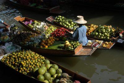 Schwimmender Markt - Bangkok - Thailand