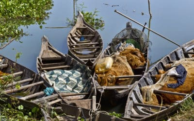 Laos Kambodscha Rundreise -Laos Kambodscha Reise -Laos Kambodscha Gruppenreise -Fischerboote - Tonle Sap