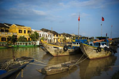 bunte Boote - Hoi An - Vietnam