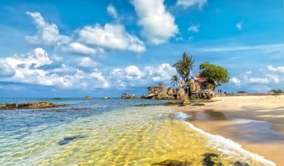 Vietnam Rundreise - Meer an einem sonnigen Tag - Phu Quoc