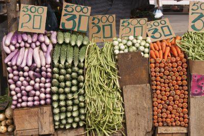 Sri Lanka Rundreise - Hafen -Gemuesemarkt - Colombo - Sri Lanka